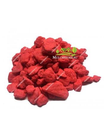 Мраморная крошка красная, фр. 10-20 мм