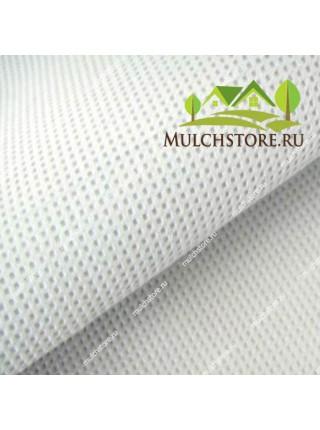Укрывной материал спанбонд белый, 130 г/м2, ширина 1,6 м