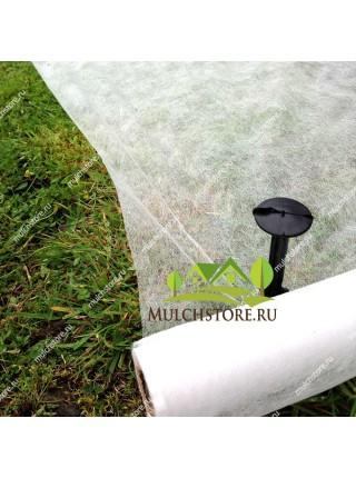 Укрывной материал спанбонд белый, 17 г/м2, ширина 3,2 м