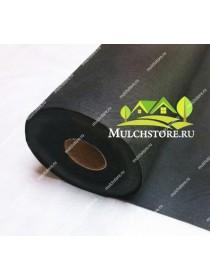 Геотекстиль спанбонд черный, 100 г/м2, ширина 1,6 м